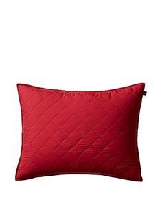 Tommy Hilfiger Prep Bedding Standard Sham, Nantucket Red
