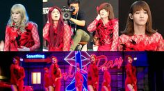 """Changmin, Kyuhyun, Minho, and Suho of """"Kyu Line"""" Shock Fans with Surprise Performance of Girl's Day's """"Something"""" at SM Town Shinee, Jonghyun, Minho, Boys Day, Girl Day, Girl's Day Something, Funny Kpop Memes, Last Man Standing, Korean Music"""