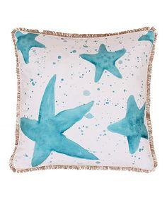 Loving this Samaria Starfish Throw Pillow on #zulily! #zulilyfinds
