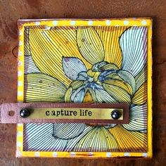 Berry71bleu : Capture Life in Yellow by Marie Johansson. March 2017 challenge