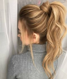 Just over here swooning over this ponytail Amazing job @milabeautykim #repost