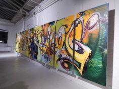 Ausstellung 25 Jahre Bomber in der Heyne Kunst Fabrik Offenbach, November 2013