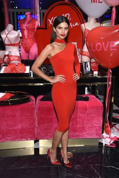 Sara Sampaio Victoria's Secret Valentine Event