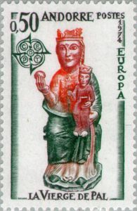 1974 c.e.p.t. europa stamps -
