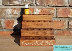 Essential Oil Shelf - DIY ??