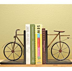 How awesome are these bookends? $56 at femail creations