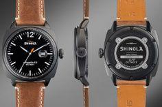 Men's Shinola brakeman watch