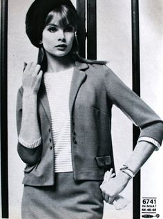 Regina Mode (Dutch) October 1967  Jean Shrimpton