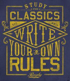 Study the classics write your own rules. Lettering Design, Hand Lettering, Branding Design, Typo Logo, Typography, Sports Graphic Design, Sports Graphics, Ralph Lauren, Altered Art