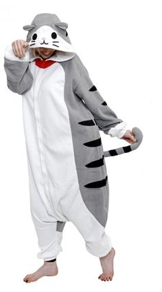 Tabby Cat Kigu | This cute cat onesie is puurrrfect for all cat lovers!
