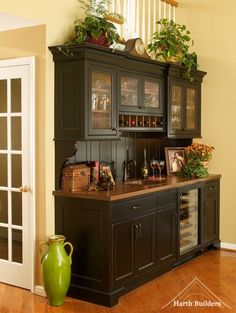 1000+ ideas about Bar Hutch on Pinterest | Armoire Bar, Wine ...