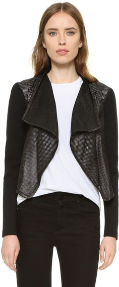 Mackage Ember Perforated Leather Jacket - $175.00