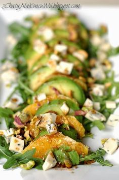 Lunch Recipes, Salad Recipes, Vegetarian Recipes, Cooking Recipes, Healthy Recipes, Low Carb Diet, Food Dishes, Food Inspiration, Chicken Recipes