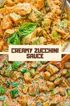 Sauteed the zucchini instead of baking and added diced chicken. Served with steamed brown rice. Will definitely be making again Potato Gnocchi Recipe, Sweet Potato Gnocchi, Gnocchi Recipes, Pumpkin Seed Recipes, Carrot Recipes, Lamb Recipes, Chicken Recipes, Zucchini Keto Recipe, Zucchini Sauce