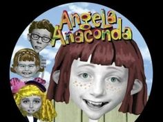 My name is Angela, hey hello.  Welcome to my very own show.  I'll introduce my friends to you.  Oh no, it's Ninnie-Poo!