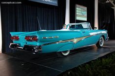 1958 Ford Fairlane 500 Sunliner Convertible!  Whether you're interested in restoring an old classic car or you just need to get your family's reliable transportation looking good after an accident, B & B Collision Corp in Royal Oak, MI is the company for you!  Call (248) 543-2929 or visit our website www.bandbcollisioncorp.net for more information!