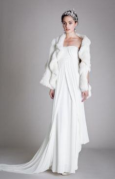 vestido de noiva Vintage Glamour de Temperley London #casarcomgosto