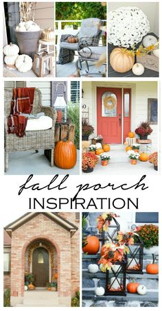 Fall porch inspirati