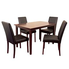 Reside Milan Dining Set 5 Piece