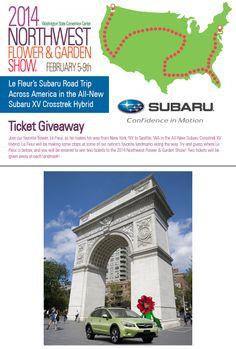Le Fleur's Road Trip- Stop # 1.  Follow him to win tickets! http://woobox.com/8njbe5