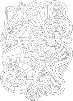 1779 best Doodles - Coloring Pages images on Pinterest in 2018 ...
