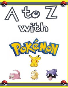 This simple picture book has a Pokemon character on each page that start with one letter of the alphabet from A to Z.  The book is ready to be downloaded and printed and can then be bound on the left side for your students to read independently.