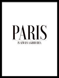 Paris is always, poster i gruppen Posters och prints / Storlekar / 30x40cm hos Desenio AB (7856)
