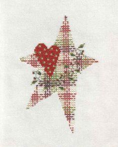~ Star, Heart & Wreath ~ Contemplating My Needle & Thread....