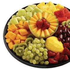 coffee fruit fruit trays