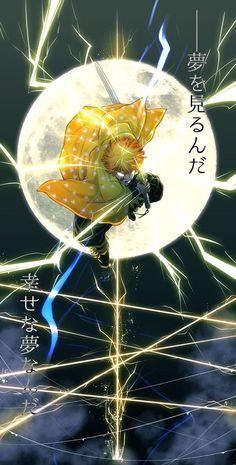 wallpaper zenitsu ~ wallpaper zenitsu & wallpaper zenitsu hd & wallpaper zenitsu agatsuma & wallpaper zenitsu gif & wallpaper zenitsu kimetsu no yaiba & wallpaper zenitsu cute & wallpaper zenitsu x nezuko & demon slayer zenitsu wallpaper Manga Anime, Anime Demon, Otaku Anime, Anime Art, Sky Anime, Cool Anime Wallpapers, Animes Wallpapers, Wallpaper Backgrounds, Anime Love