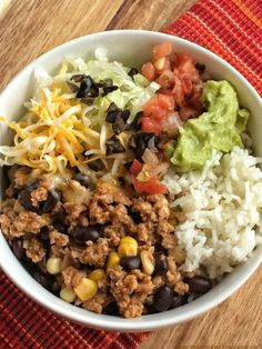 Turkey taco meat wit