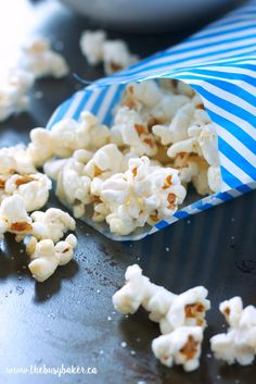 The Busy Baker: Homemade Sweet and Salty Kettle Corn