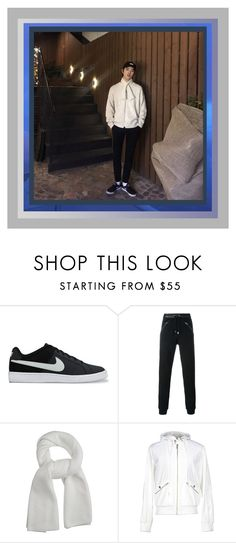 """""""Snowbomb 2016"""" by jeon-yuho ❤ liked on Polyvore featuring NIKE, Just Cavalli, Lemaire and Bikkembergs"""
