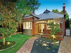 Photo of a brick house exterior from real Australian home - House Facade photo 256740