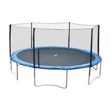 Super Jumper 16 ft. Trampoline with Enclosure, Blue, 16