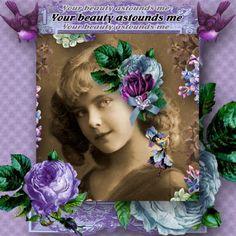 Violetta [YT-139] - $2.49 : e-scapeandscrap.net