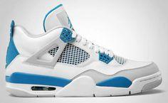 Air Jordan 4 Military Blue