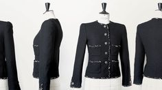 In Chapter 13 of Inside CHANEL, the craftsmanship behind the Haute Couture jacket is revealed, beginning with Karl Lagerfeld's sketch and ending with hours of excellence in the work of the seamstresses. This is Haute Couture according to CHANEL.