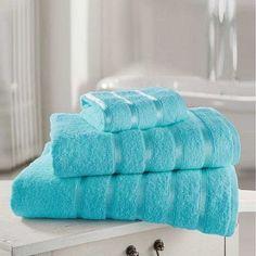 Kensington Egyptian Torquoise Hand Towel Bath Towel &Bath Sheets – Linen and Bedding