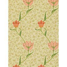 Buy Morris & Co Garden Tulip Wallpaper Online at johnlewis.com