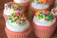 Grenadine Cupcakes