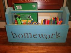 Easy - Diy Homework Station