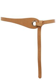 Belts | Brown EYELET WRAP BELT | Warehouse