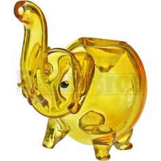 10ffe23f77b0 Details about Animal Collectible Tobacco Pipe Glass Elephant 3