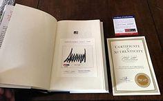 45Th President Donald Trump Signed Crippled America Hardback Book Coa