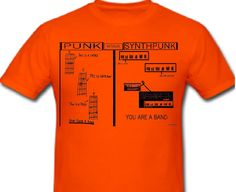 FUTURISK SYNTHPUNK T-SHIRT (FREE SHIPPING) FUTURISK's 1980s SYNTHPUNK response to the famous 1976 punk flyer. (FREE worldwide shipping). http://8bitoperators.bandcamp.com/merch/futurisk-synthpunk-t-shirt-free-shipping