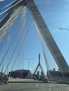 The Leonard P. Zakim Bunker Hill Bridge