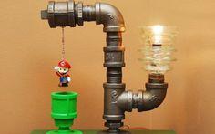 Três luminárias divertidas para um quarto geek