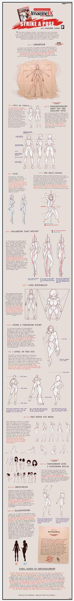 Warren Louw | Основы рисования человека