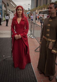 Melissandre (Game of Thrones) #cosplays